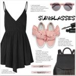 How to wear sunglasses