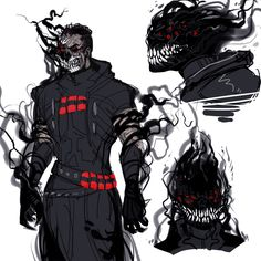 Yeah! I hc that when its one of those times that he's either low on souls/health etc. his human form just kinda slowly disintegrates away in layers and random places until all that left is smoke...
