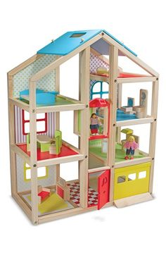 Melissa & Doug 'Hi-Rise' Doll House (Online Only) available at #Nordstrom