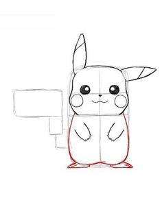 Jak Narysować Pokemona Pikachu 15 Zwierzęta Pinterest Pikachu And 15