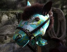 Filly Stick Turquoise Paisley