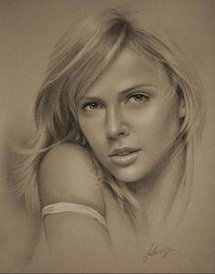Portrait au crayon 1