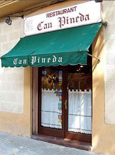 Restaurante Can Pineda Neon Signs, Canning, Outdoor Decor, Barcelona, Spain, Home Decor, Restaurants, Decoration Home, Room Decor