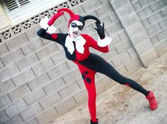 Harley Quinn Classic Costume by cleighcreations on Etsy, $172.00