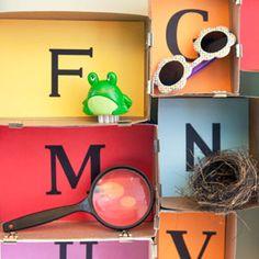 Alphabet Museum (via FamilyFun Magazine)