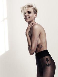 #anchor #thigh #hip #tattoos