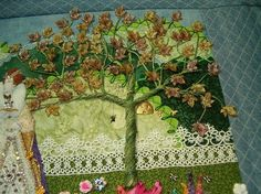 """Tutorial for how to embroider trees. """"Shawkl: Easy, Breezy Trees"""""""