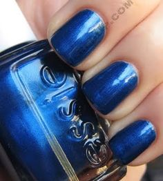 Beautiful blue polish!