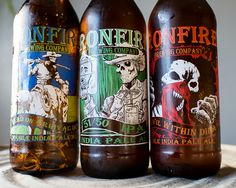 Ironfire Brewing Company, Dead On Arrival IPA, 51/50 IPA (flagship), and The Devil Within DIPA.  All for IPA day 2015!