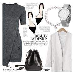 """""""Beauty by design!"""" by helenevlacho ❤ liked on Polyvore featuring Topshop, Zara, christianpaulwatches and watchstyle"""