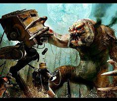 Rancor vs. Walker