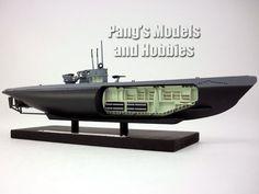 German Type XIV Resupply Submarine U-487 1/350 Scale Diecast Metal Model by Atlas