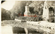 Watertown Wisconsin RP Rare Riverside Park WI $12.80