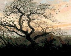 (10) Name: 'Embroidery : Tree of Crows Cross Stitch Pattern