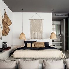 Zuri Home Dormitorio tonos neutros, materiales naturales