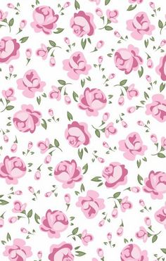By Artist Unknown🇺🇸. Flower Backgrounds, Flower Wallpaper, Pattern Wallpaper, Wallpaper Stickers, Wallpaper Backgrounds, Iphone Wallpaper, Decoupage, Vintage Flowers, Background Patterns