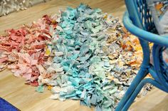DIY rag rug :)