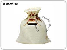 ceramic bag coin bank