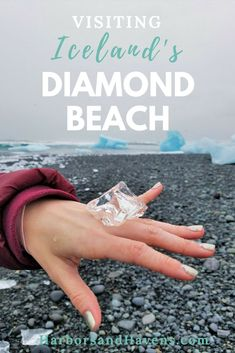 Diamond Beach in Ice