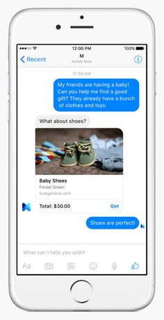 Facebook Launches M, Its Bold Answer to Siri and Cortana | Credit: Facebook | From Wired.com