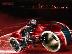 Searching for the Ducati motorcycle from the movie Tron Legacy? Here's all you need to know about the Tron Ducati Sport 1000 and where you can buy one. Concept Motorcycles, Ducati Motorcycles, Custom Motorcycles, Ducati Sport 1000, Tron Art, Tron Light Cycle, Tron Bike, Tron Uprising, Tron Legacy