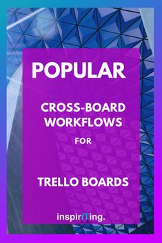 Part 1 of an article series that covers the best Trello hacks & top-notch workflow ideas in Trello. In this article, I am covering 5 popular cross-board workflows that all have the potential to get the work done quicker than you ever could! Business Tips, Online Business, Business Quotes, Productivity Hacks, Best Blogs, Blogging For Beginners, Entrepreneurship, How To Make Money, Boards