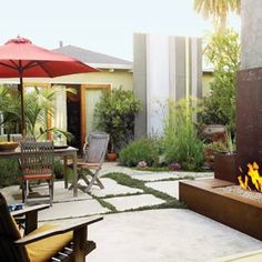 50  landscaping ideas with stone   Space to unwind