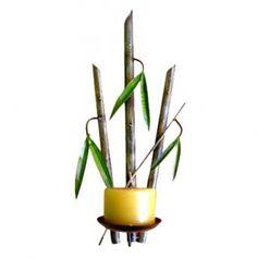 Candelabro Bamboo de Pared $45.000