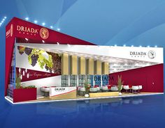 Driada group exhibition stand project Prodexpo 2015