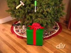 christmas tree watering system for when i go out of town
