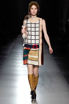 Prada Fall 2011 Ready-to-Wear Collection Slideshow on Style.com