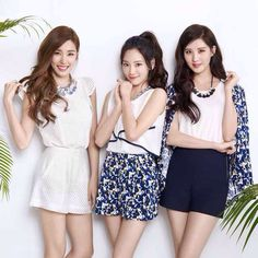 150917 MIXXO 2015 SPRING LOOK BOOK SNSD TTS T