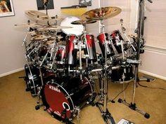 Custom Tama Drum Kit