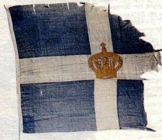 Greek Flag - 1941 Greek Independence, Greek Flag, Greek Girl, Greek History, Greek Culture, Athens Greece, Macedonia, Ancient Greece, History Facts