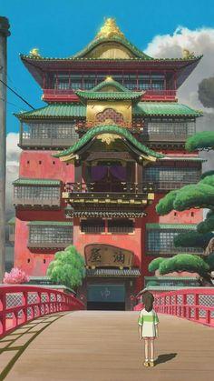 fondo de pantalla anime | Tumblr Anime Backgrounds Wallpapers, Anime Scenery Wallpaper, Movie Wallpapers, Animes Wallpapers, Cute Wallpapers, Wallpaper Desktop, Aztec Wallpaper, Anime Artwork, Screen Wallpaper