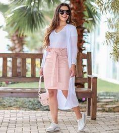 1e993a2661 Livia Fashion Store. CONJUNTO SAIA CAMISA E ...