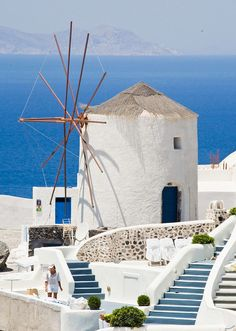 Santorini is one of the most beautiful places ever. #treasuredtravel