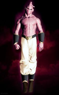 Realistic Buu - Dragonball wow! This Guy used to scare me as a kid!