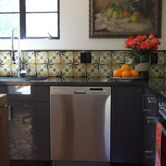 Hand Painted Mexican Tile Design Ideas, Pictures, Remodel, and Decor