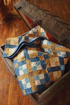 Comfy Cozy Quilt Pattern - flannel