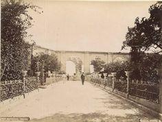 Upper Barakka Garden Valletta Malta circa 1868, Photo by Horatio Agius