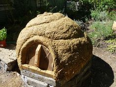 Cob Oven ~ Tutorial in pictures