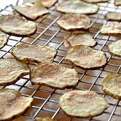 Microwave Potato Chips. You won't believe how easy it is to make these!