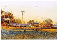 Joseph Zbukvic- Truly a modern master of watercolor--his use of light an atmosphere is second to none!