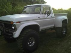 1977 Ford Drove her brand new out of show room. And She became our biggest baby. From the ground up. 1979 Ford Truck, Old Ford Trucks, New Trucks, Cool Trucks, Pickup Trucks, Lifted Ford, Lifted Trucks, Single Cab Trucks, Chevy Stepside