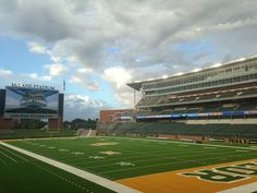 A beautiful morning at #Baylor's McLane Stadium