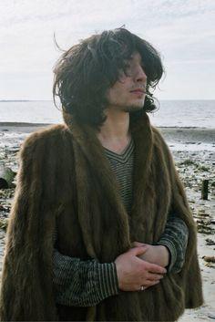 ezra miller, omg I want his coat!!