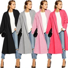 Cool Stylish Ladies Women Casual Below Knee Long Solid Cardigan Trench Coat Outerwear Windbreaker ?utm_source=pin&utm_medium=cpc&utm_campaign=ZYWB16 buy here