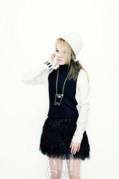 Hyoyeon on Vogue Korea