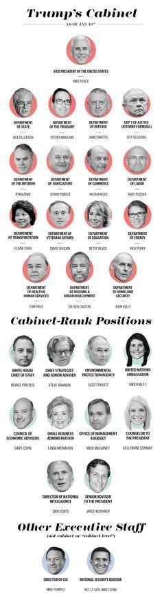 A Close Look at Donald Trump's Cabinet